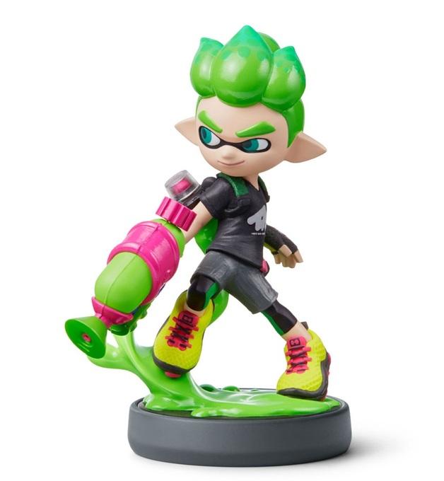 Nintendo Amiibo New Inkling Boy - Splatoon Collection for