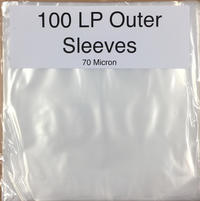 "12"" Poly Outer Sleeves (Pack of 100) image"