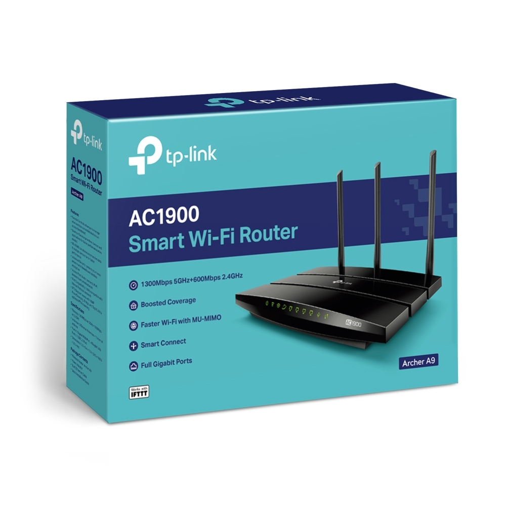 TP-Link AC1900 Wireless MU-MIMO Gigabit Router image