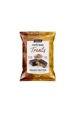 Horleys Carb Less Treats - Peanut Butter (10 x 60g) image