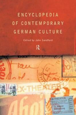 Encyclopedia of Contemporary German Culture image