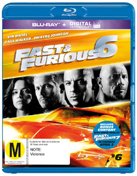 Fast and Furious 6 on Blu-ray