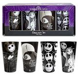 The Nightmare Before Christmas Pint Glass (Set of 4)