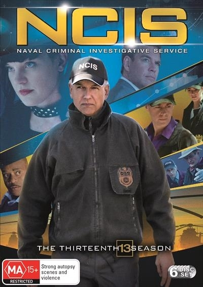 NCIS - The Thirteenth Season on DVD image