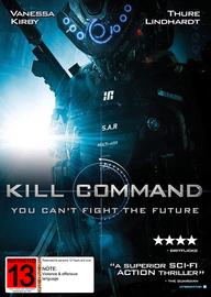 Kill Command DVD