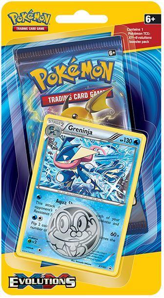 Pokémon TCG Evolutions Checklane Blister:Greninja