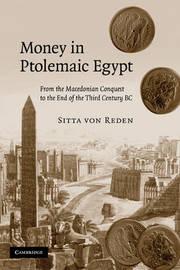 Money in Ptolemaic Egypt by Sitta Von Reden image