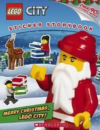 Lego City: Merry Christmas, Lego City! (Sticker Storybook) by Inc Scholastic