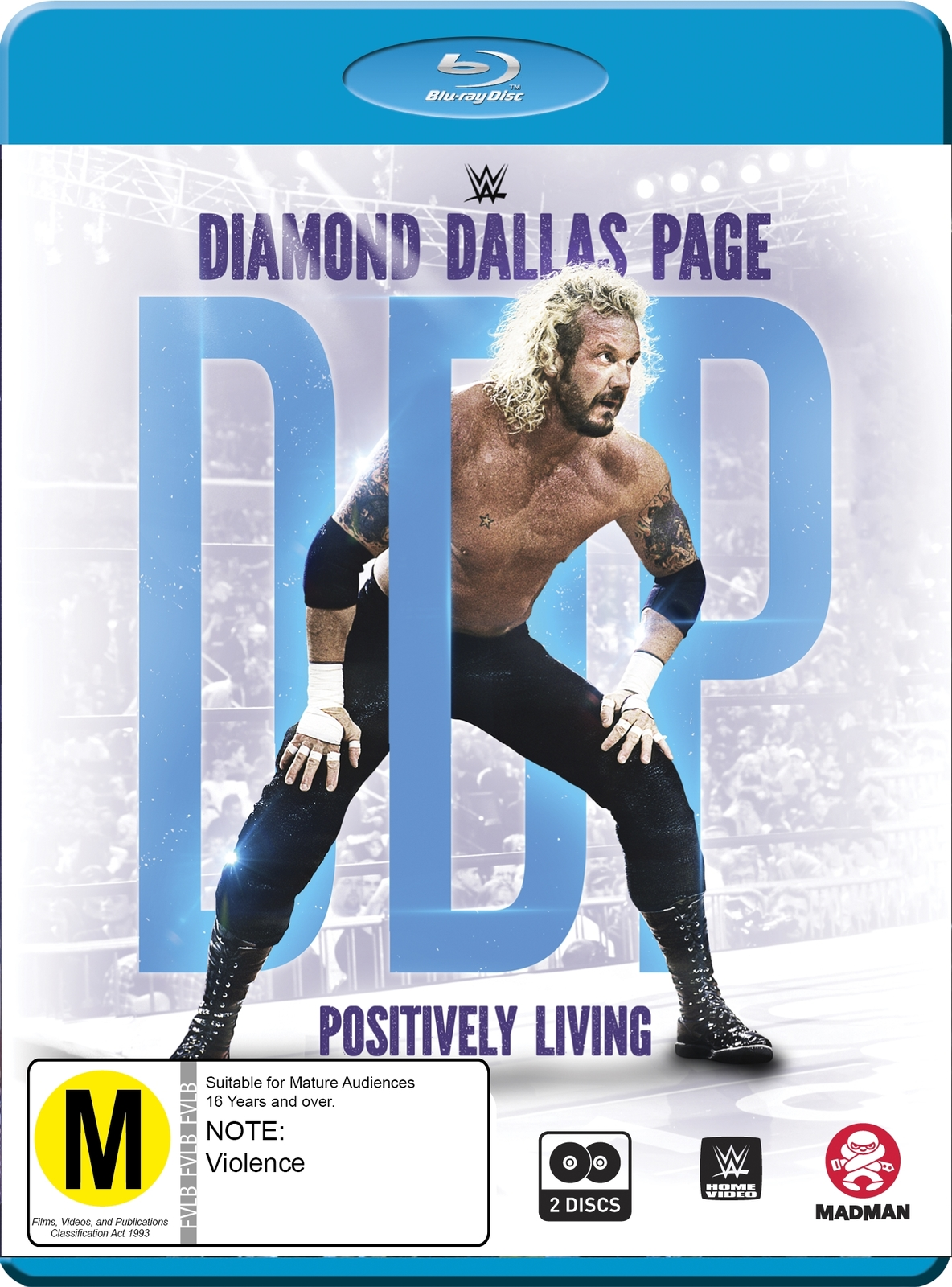 WWE: Diamond Dallas Page: Positively Living on Blu-ray image