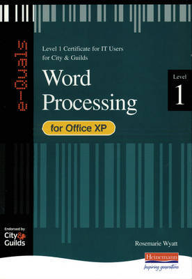 e-Quals Level 1 Office XP Word Processing by Rosemarie Wyatt