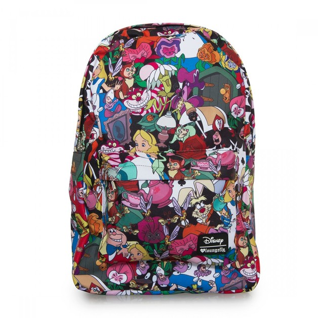 Loungefly Disney Alice In Wonderland Character Backpack