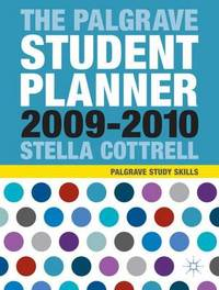 The Palgrave Student Planner: 2009-10 by Stella Cottrell image