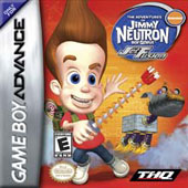 Jimmy Neutron Jet Fusion for Game Boy Advance