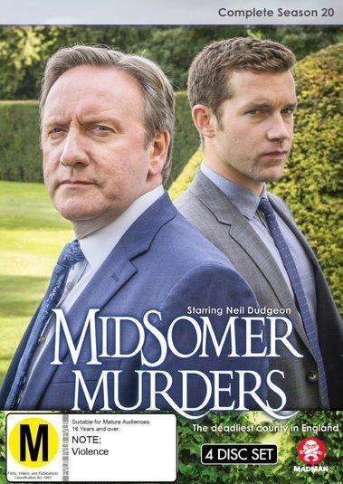Midsomer Murders: Complete Season 20 - (Single Case Version) on DVD
