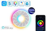 Smart Ape: WiFi App Controlled LED strip RGB 5M Kit