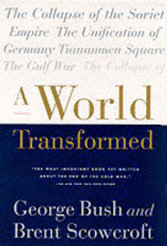 A World Transformed by George Bush image