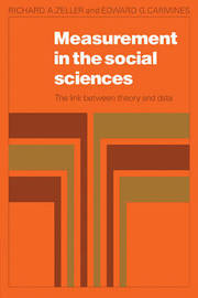 Measurement in the Social Sciences by Richard A. Zeller image
