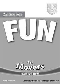 Fun for Movers Teacher's Book by Anne Robinson image