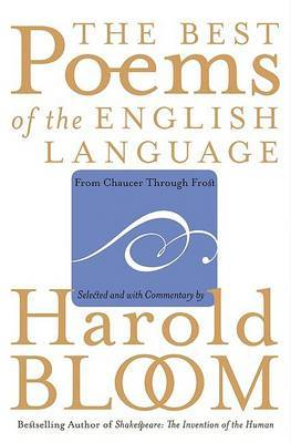 Best Poems of the English Language by Harold Bloom image