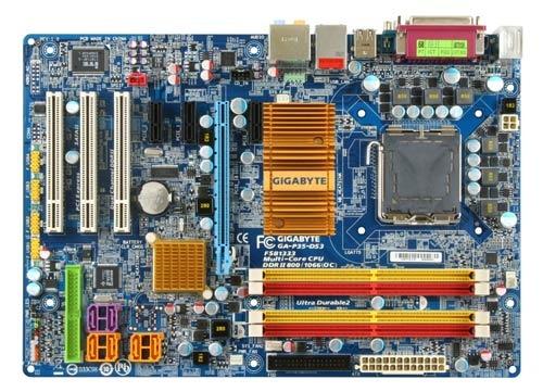 GIGABYTE GA-P35-DS3 Intel P35 + ICH9 Chipset