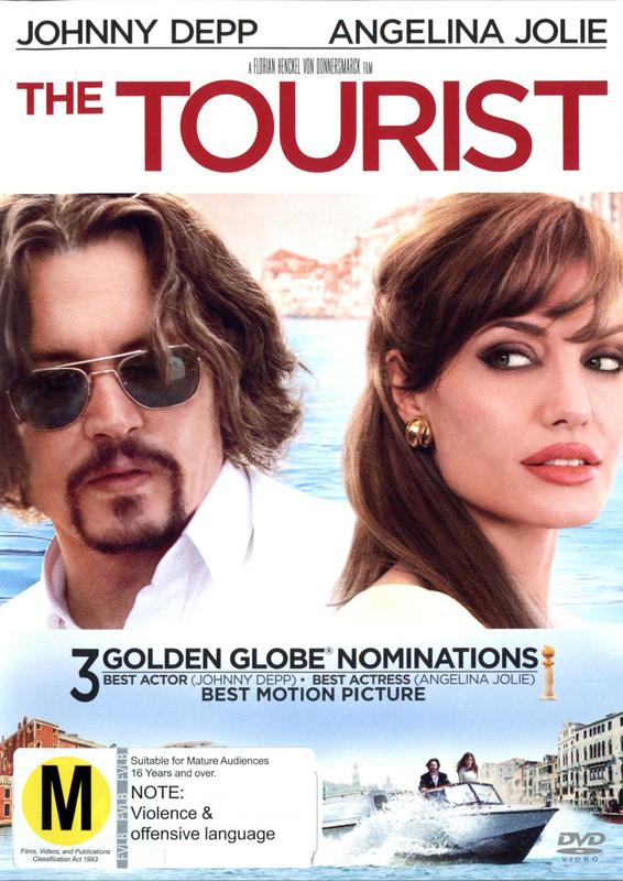The Tourist on DVD