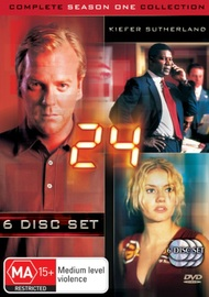 24 - Complete Season 1 Collection on DVD