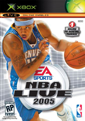 NBA Live 2005 for Xbox