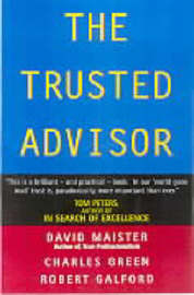 The Trusted Advisor by Maister David H image