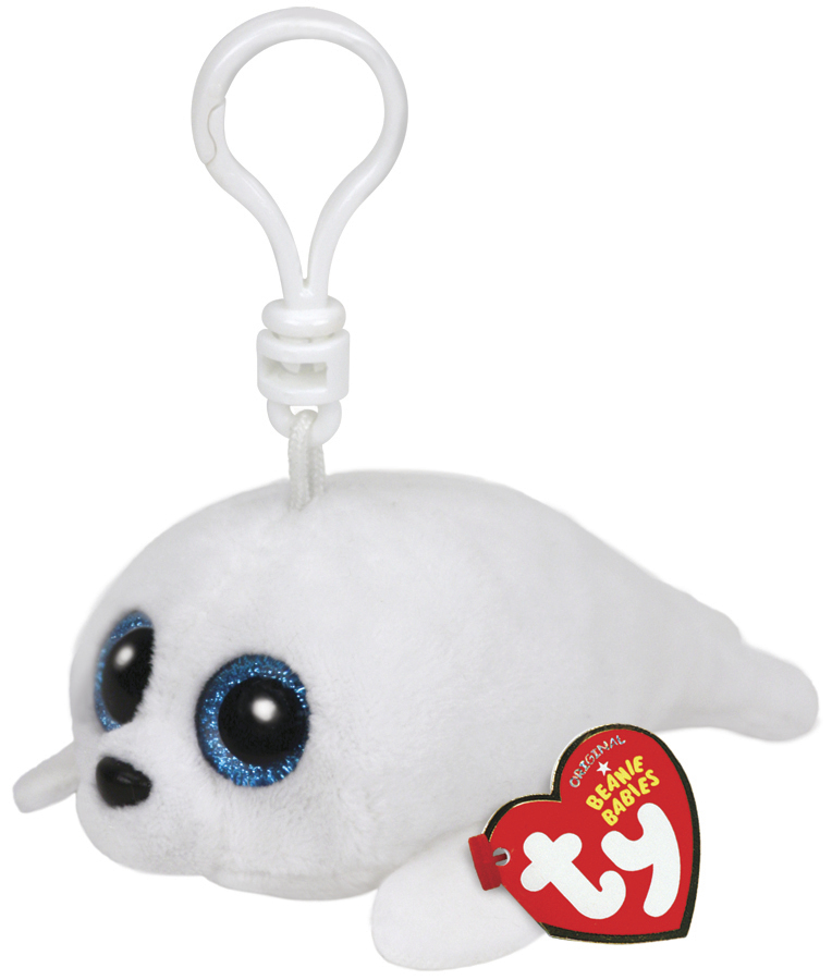 Ty Beanie Boos: Icy Seal - Clip On Plush image