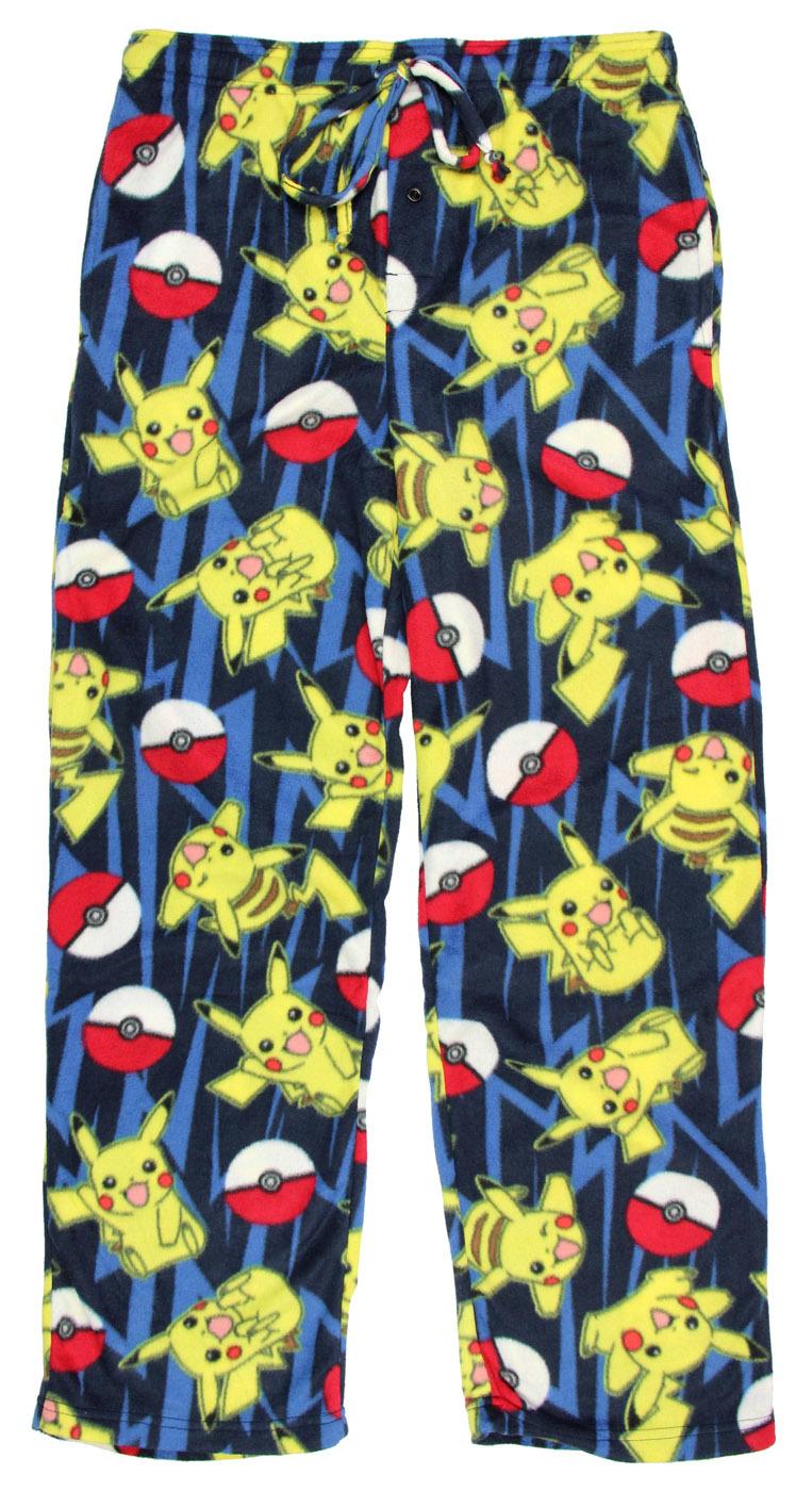 Pokemon: All Over Print - Microfleece Pants - (Medium) image