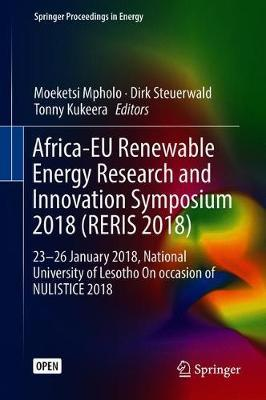 Africa-EU Renewable Energy Research and Innovation Symposium 2018 (RERIS 2018) image