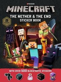 Minecraft The Nether and the End Sticker Book by Mojang AB