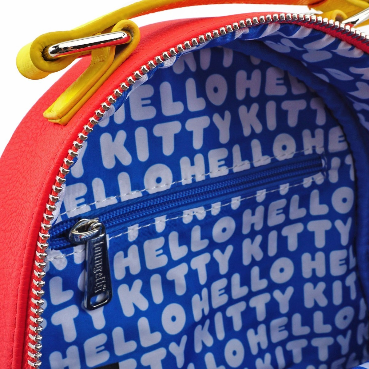 Loungefly: Hello Kitty - Striped with Bow Mini Backpack image