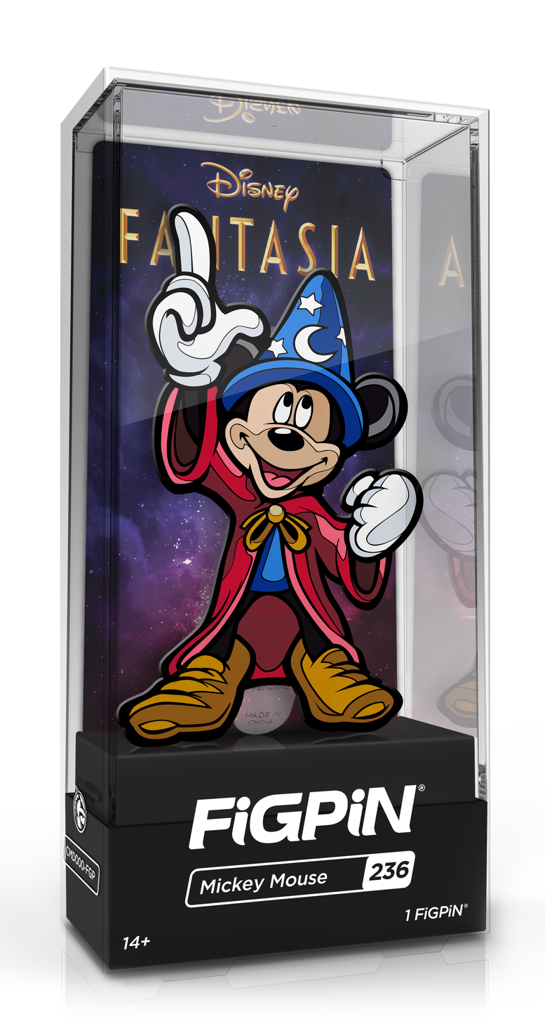Fantasia: Mickey Mouse (#236) - Collectors FiGPiN image