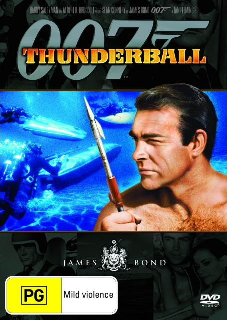 James Bond - Thunderball on DVD