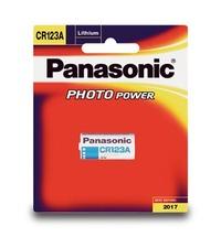 Panasonic Photo Lithium 3V Camera Battery CR123A - 1 Pack