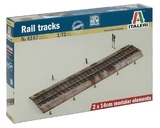 Italeri: 1/72 Rail Track - Plastic Diorama Detail Kit