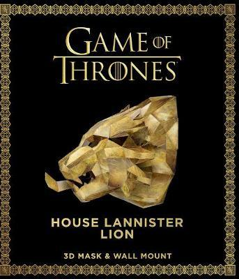 Game of Thrones Mask and Wall Mount - House Lannister Lion by Steve Wintercroft image