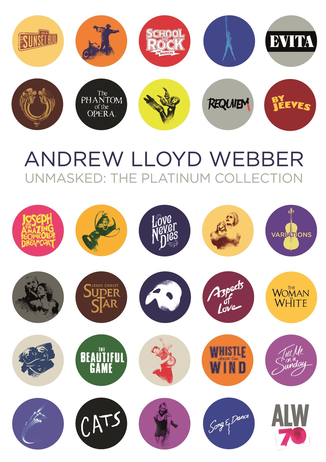 Unmasked (The Platinum Collection) by Andrew Lloyd Webber image