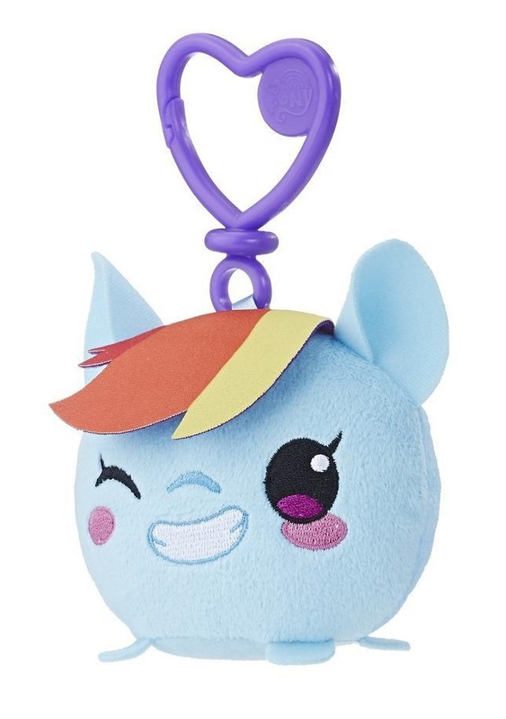 My Little Pony: Clip Plush - Rainbow Dash