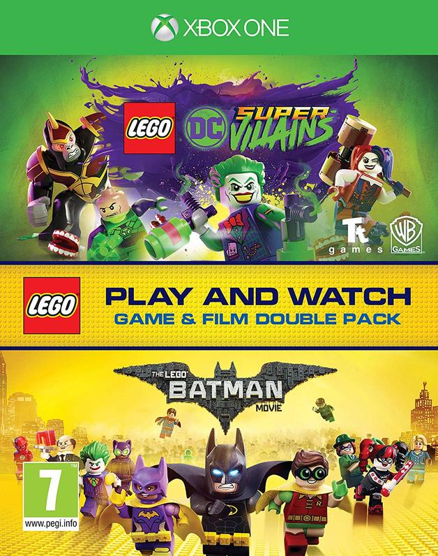 Lego DC Super-Villains Game & Film Double Pack for Xbox One