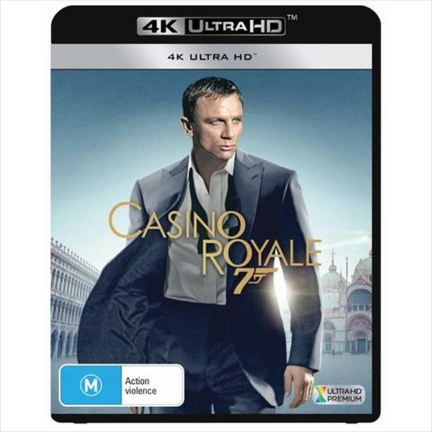 Casino Royale (4K Ultra HD Blu-ray) on UHD Blu-ray