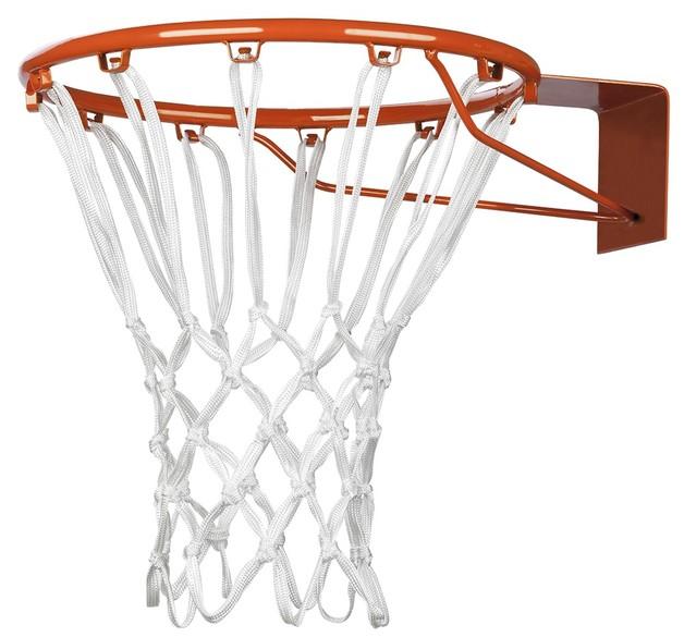 Basketball & Netball Net - Heavy Duty White Nylon