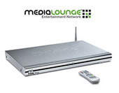 D-Link DSM-320 Wireless Media Player with DVD Player and Card Reader