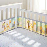 BreathableBaby Breathable Mesh Cot Liner (Animals)