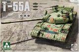 Takom: 1/35 Russian Medium Tank T-55A 3 in 1 Model Kit