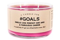 Whiskey River Co: A Candle For #Goals