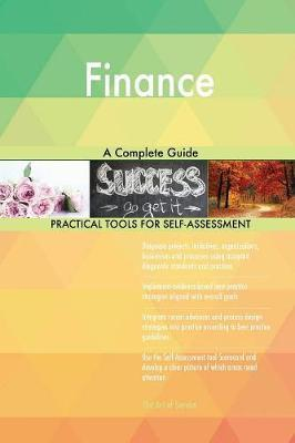 Finance A Complete Guide by Gerardus Blokdyk