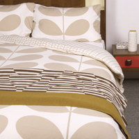 Orla Kiely King Duvet Cover - Giant Stem (Flannel)
