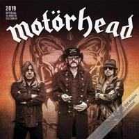 Motorhead 2019 Square by Inc Browntrout Publishers image